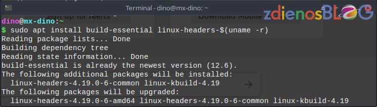 Install Driver Wifi 8821CE di MX-Linux untuk Lenovo Ideapad 130-15IKB