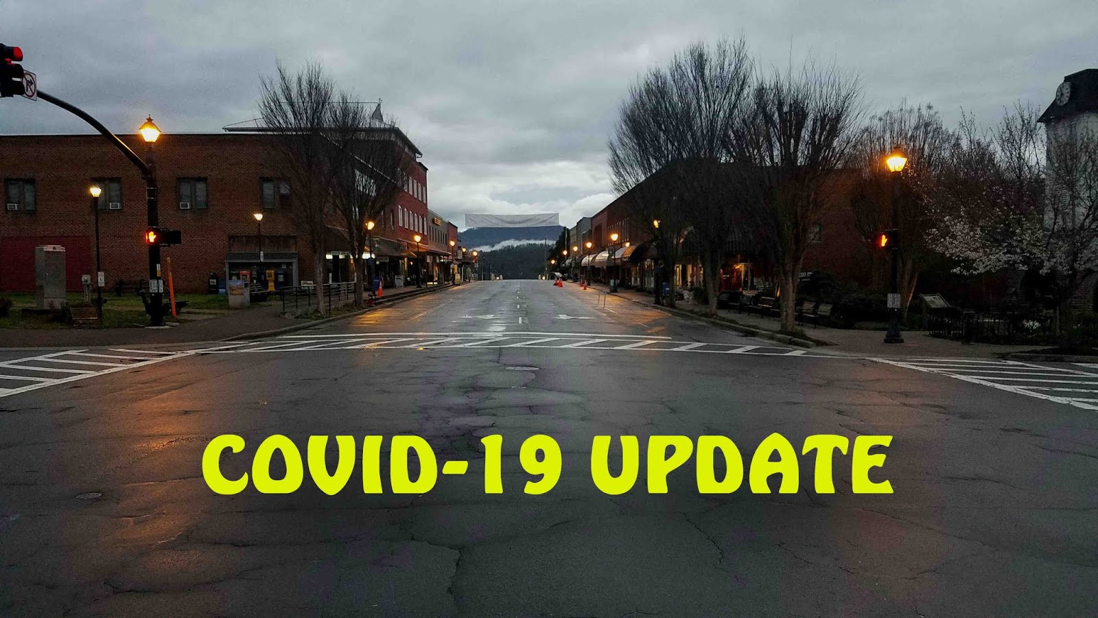 COVID-19 Update for Friday, April , 2020