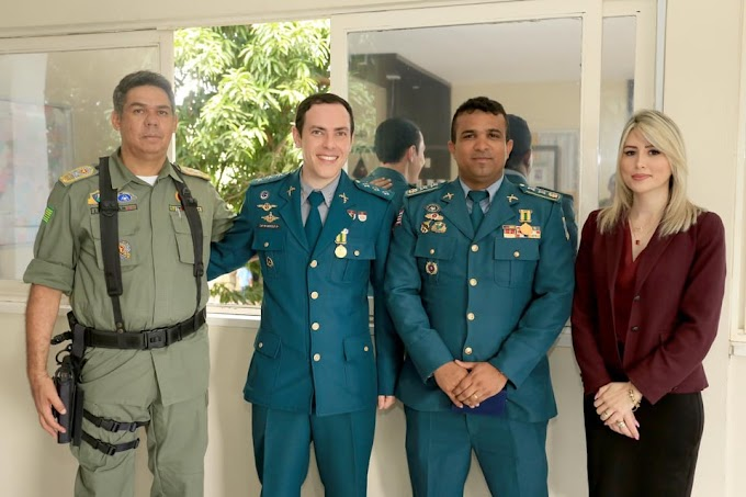 Major Lucas Daniel que serviu em Chapadinha é condecorado no estado do Piauí
