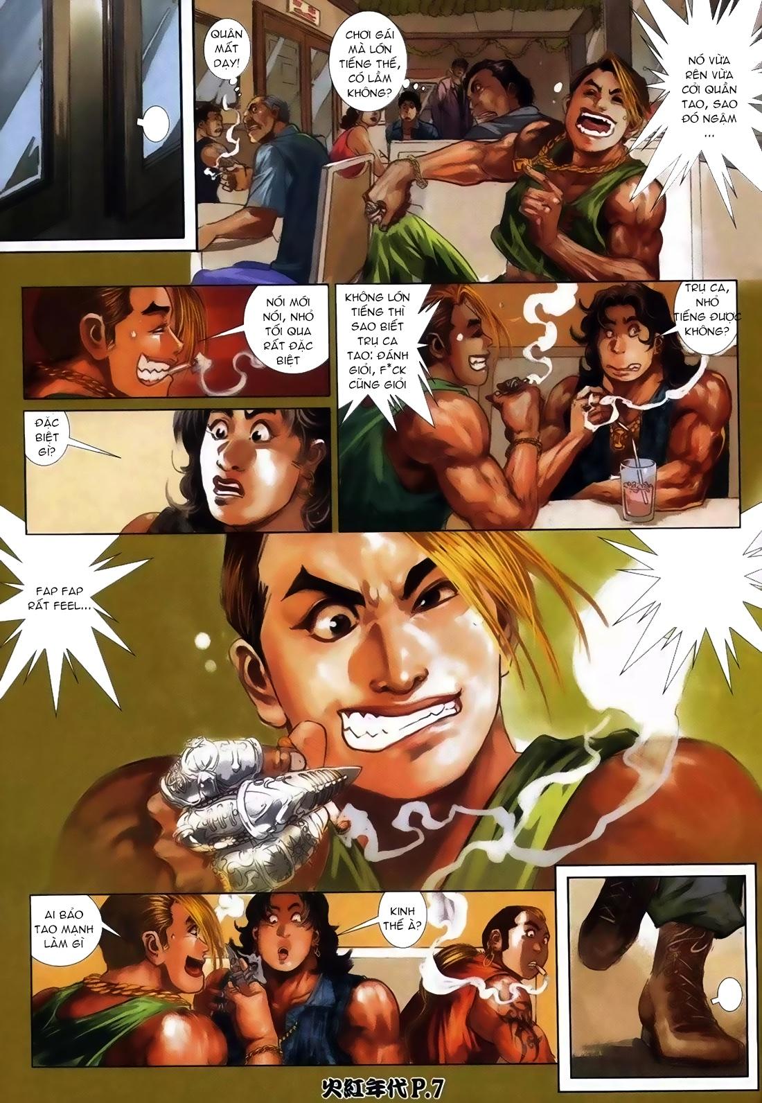 Hỏa Hồng Niên Đại Hắc Cốt Đường Chap 111 - Trang 4