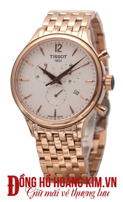 đồng hồ tissot nam dây sắt giảm giá giá rẻ