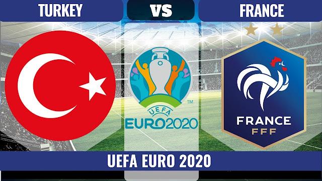 مباراة فرنسا وتركيا مباشر