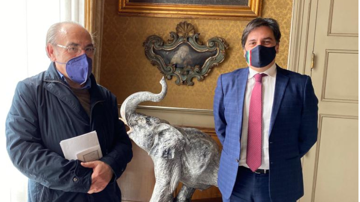 Incontro Pogliese Cantarella