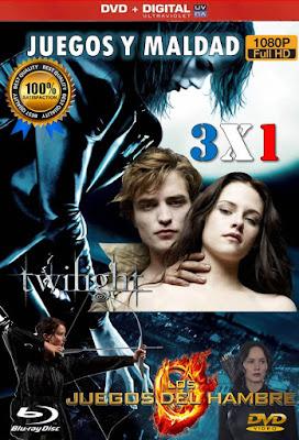 Juegos Y Maldad 3X1 DVD HD LATINO