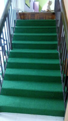 Carpeted Staircase  Equip