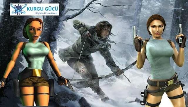Film Olan Oyunlar Listemizde 8 Harika Oyun - Lara Croft Tomb Raider - Kurgu Gücü