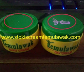 tutup cream temulawak asli malaysia original