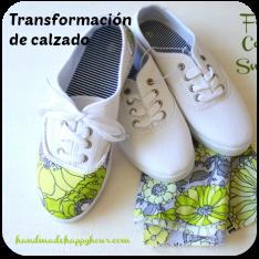 Transformación de calzado en tela