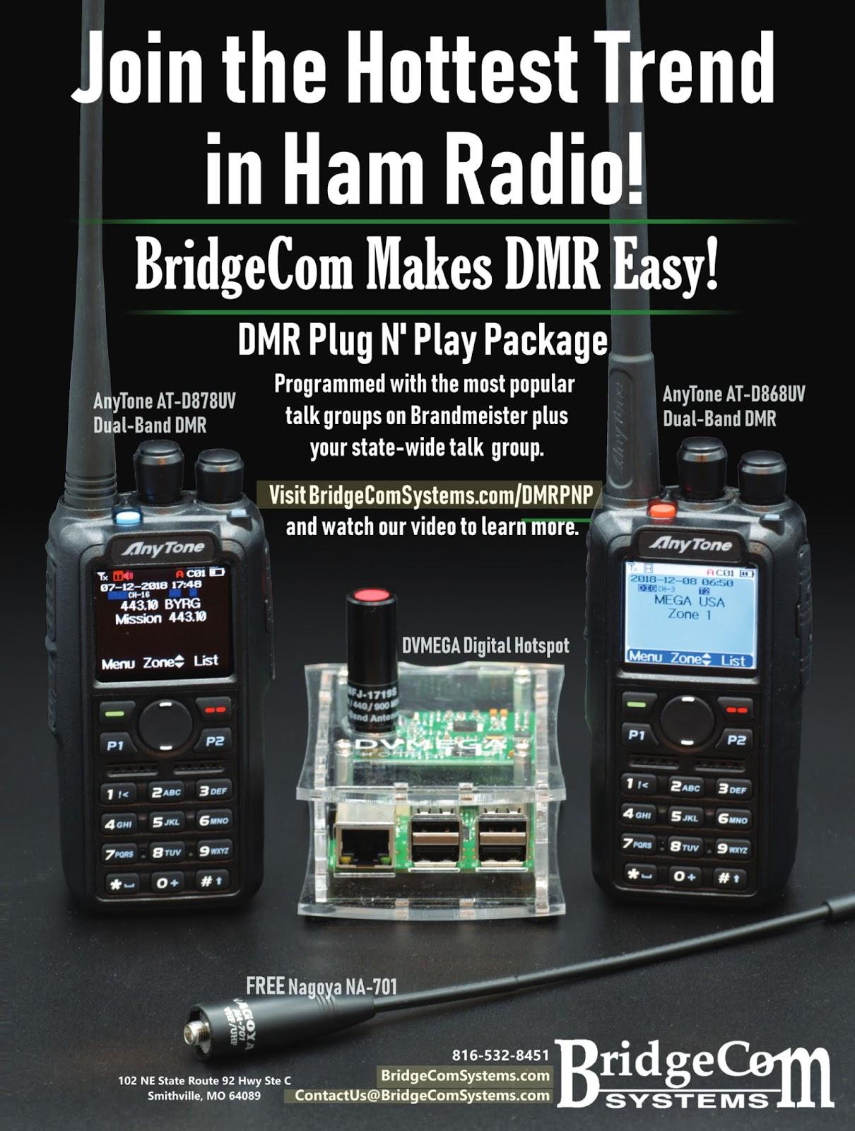 AnyTone AT-D878UV VHF/UHF DMR/FM/APRS