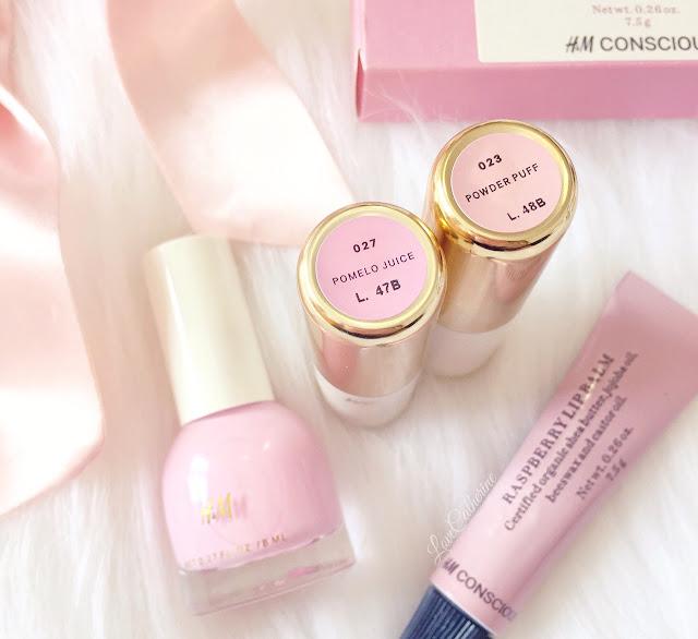H&M Lipstick | Pomelo Juice & Powder Puff