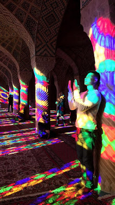 "A few days ago, our Asian passenger Visited Nasir mosque in Shiraz. He stated that ""Whether you're a history lover, art buff, foodie, or simply seeking to relax, Iran satisfies every taste""."