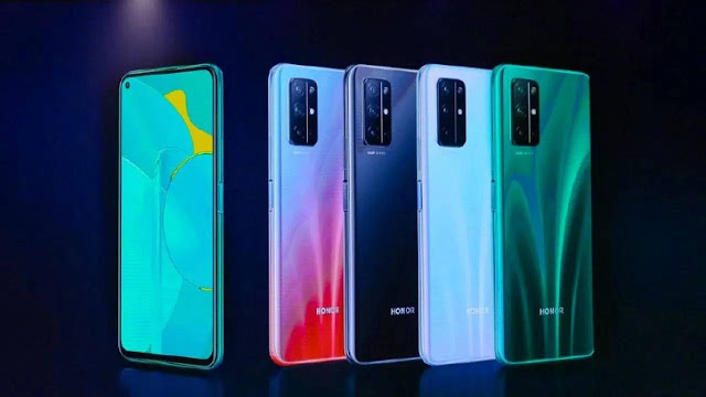 Honor 30 Lite color options revealed, confirmed to have 90Hz display, 180Hz touch sample rate.