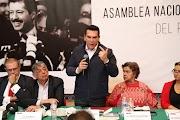ALEJANDRO MORENO, PRESIDENTE DEL CEN DEL PRI    FORO RUMBO A LA XXIII ASAMBLEA NACIONAL ORDINARIA DEL PRI