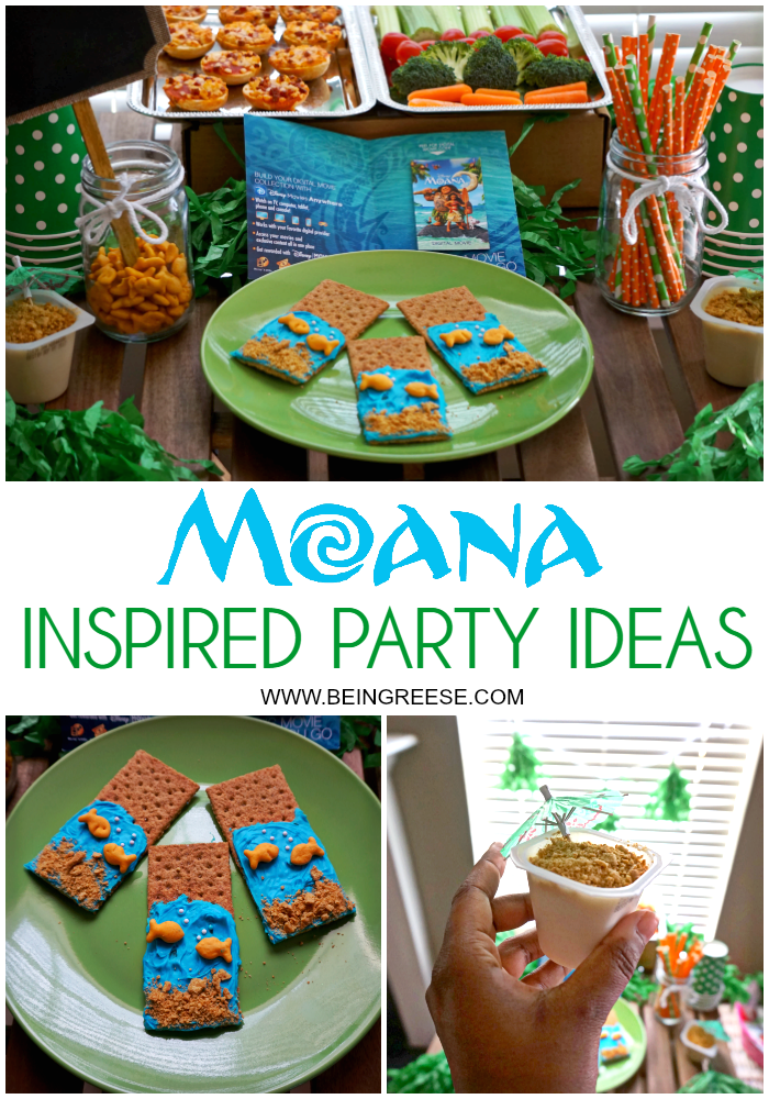 Moana inspired treats