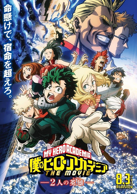 Boku no Hero Academia Movie : Futari no Hero Subtitle Indonesia