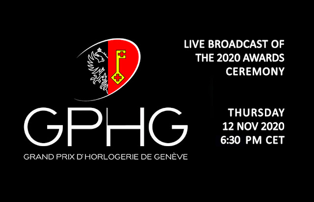 GPHG 2020 Awards Ceremony LIVE at Time and Watches