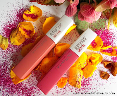 maybelline Superstay Matte Ink recenzja i swatche odcieni