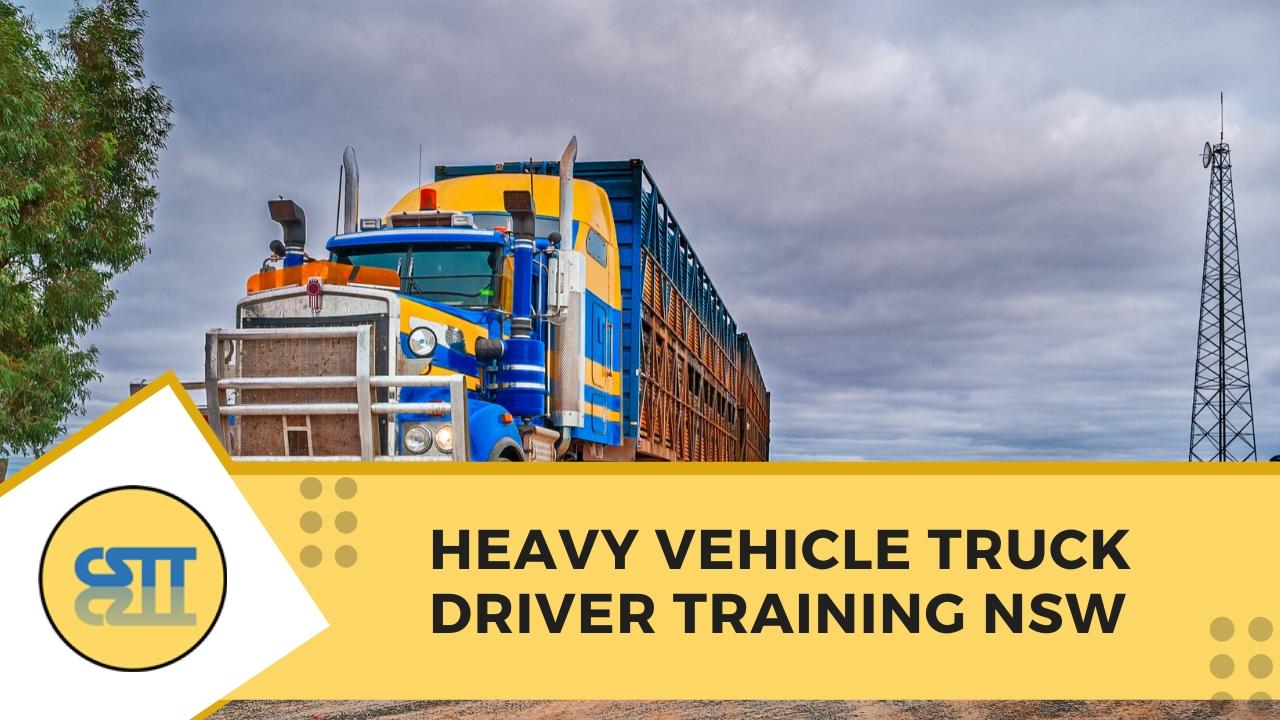 heavy vehicle truck driving training