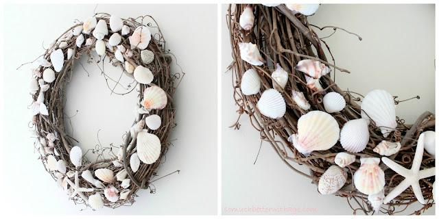 DIY Summer Wreath www.somuchbetterwithage.com