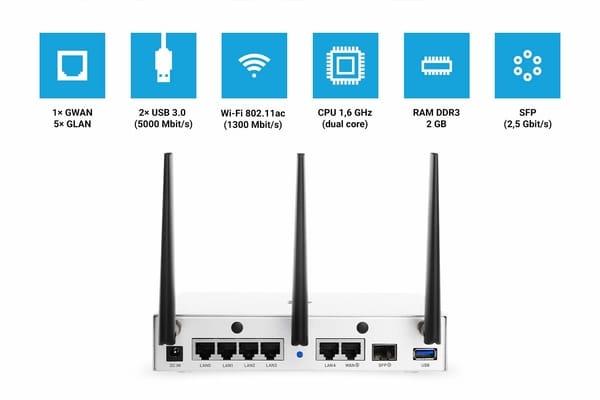 Turris RTROM01-CE Omnia 2020 Router NAS Virtual Server