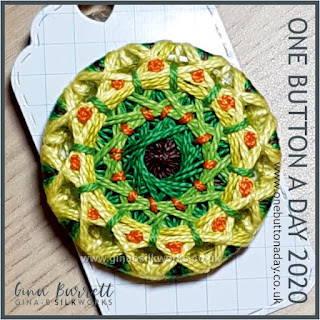 One Button a Day 2020 by Gina Barrett - Day 173 : Ordinary
