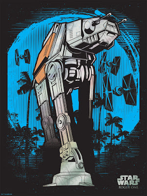"Rogue One: A Star Wars Story ""AT-ACT"" Screen Print by Hydro74 x Dark Ink Art x Acme Archives Limited"