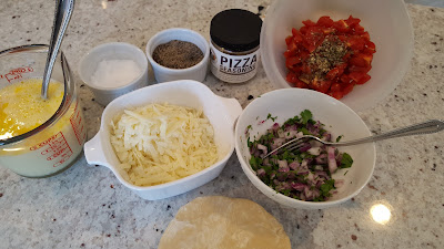 Tomato Quiche Ingredients