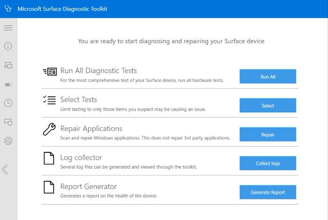 أداة جديدة من مايكروسوفت لحل مشكلات الأجهزة والبرامج الثابتة بسرعة في أجهزة Surface