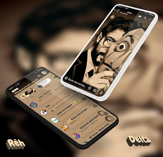 Professor Anonymous Theme For YOWhatsApp & Delta WhatsApp By Reh