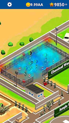 Idle Army Base Mod Apk Game Download