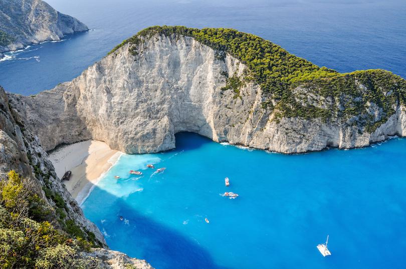 اجمل الشواطئ في اليونان