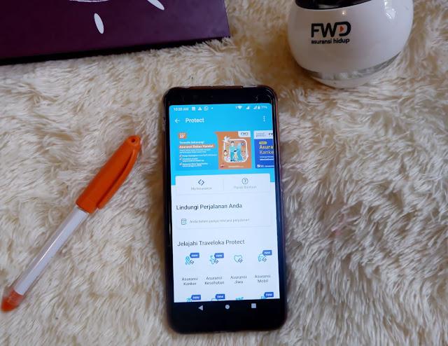 langkah mudah berasuransi fwd life dengan aplikasi traveloka