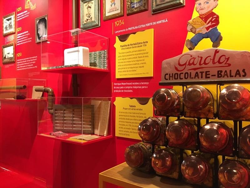 Fabrica de Chocolate Garoto: Museu