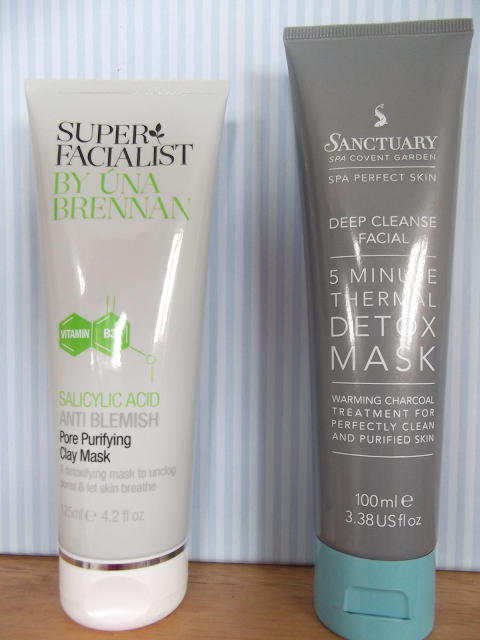 Una Brennan Facial Mask and Sanctuary 5 Minute Thermal Detox Mask