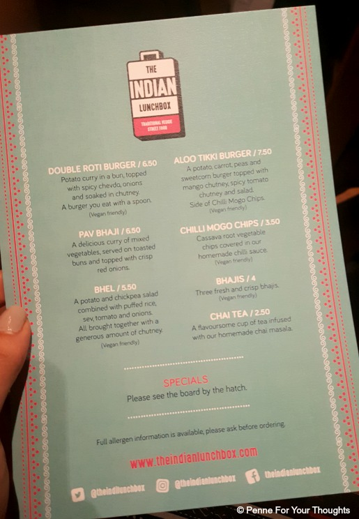 The Indian Lunchbox Birmingham