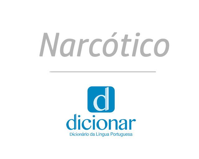 significado de narcotico