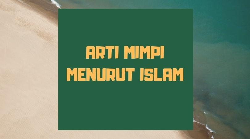 Arti mimpi tsunami menurut islam