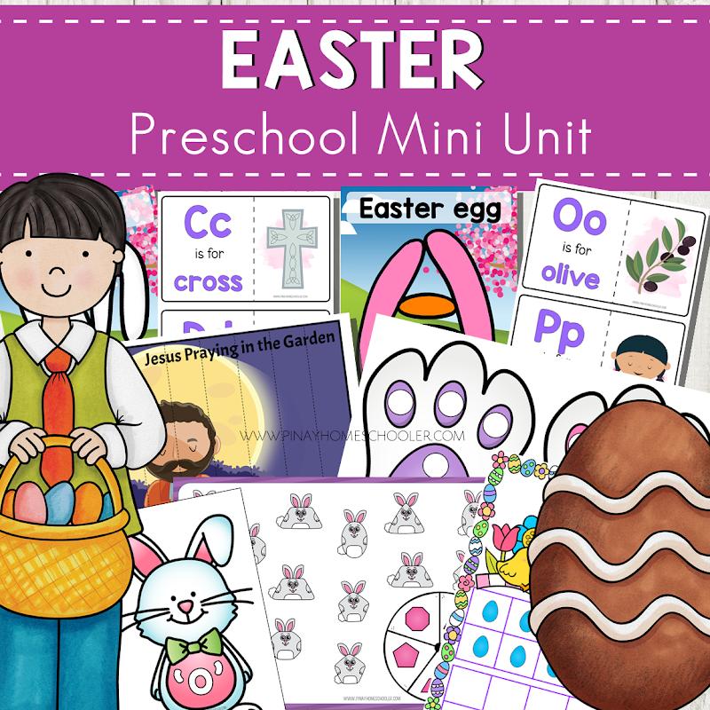 Easter Preschool and Kindergarten Mini Unit
