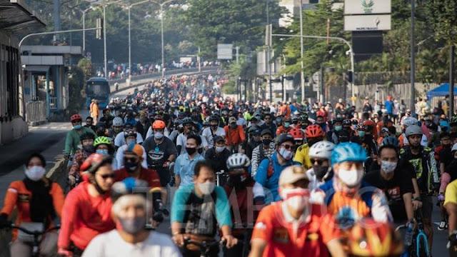 Car Free Day Jakarta, 21 juni
