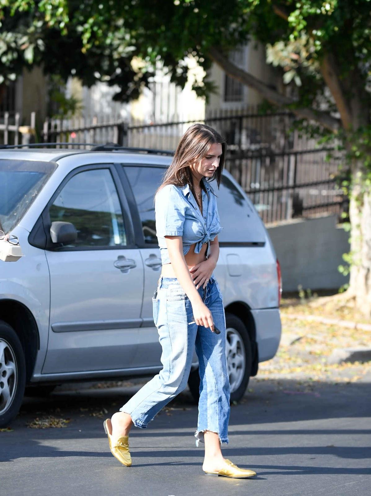 Emily Ratajkowski in Jeans