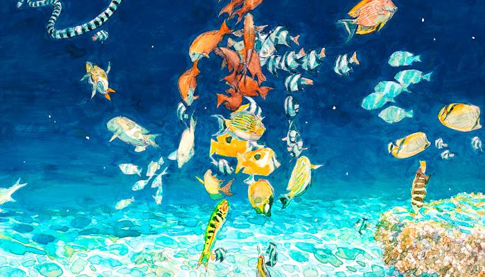 Kenshi Yonezu - Umi no Yuurei Lyrics (Children of the Sea Movie Theme)