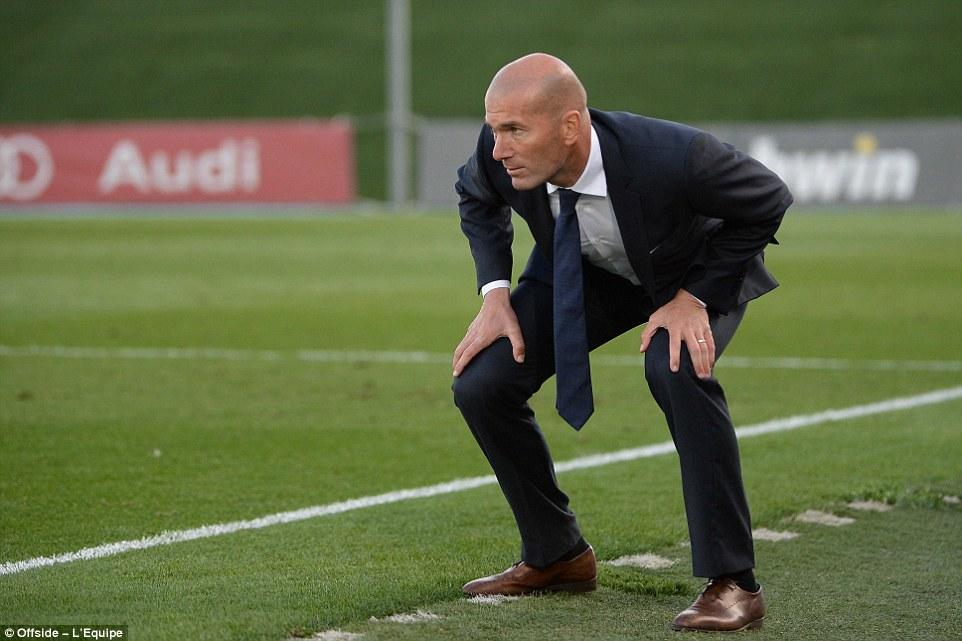 Reaksi Zidane Saat Ronaldo Belum Juga Cetak Gol