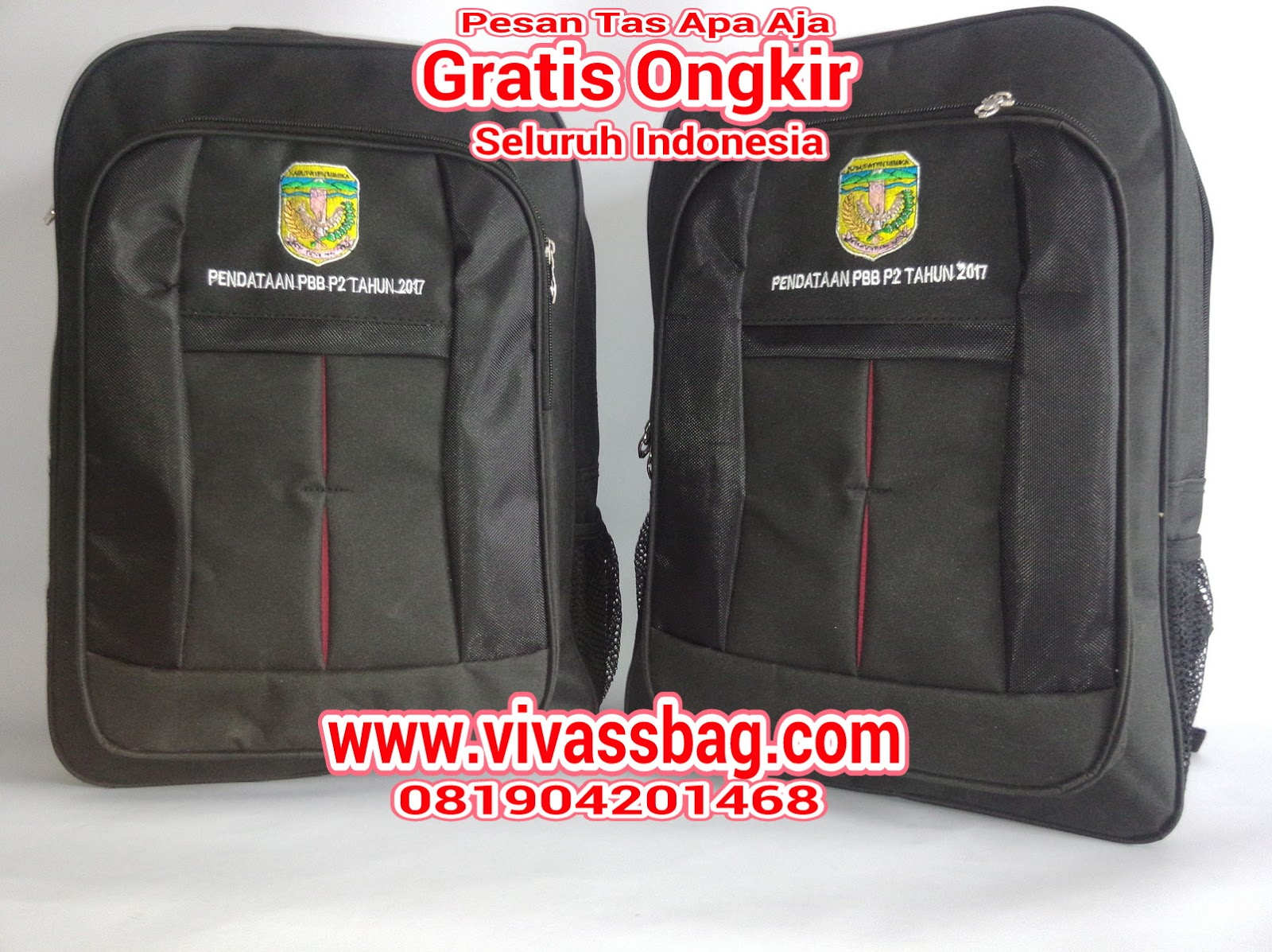 Dimana tas seminar ini memiliki beberapa spek sebagai beriku   Tas Seminar  Pemerintah Daerah Timika Bahan   D 300 karet warna hitam 748cdf8c12