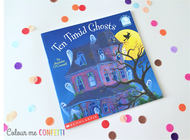 Ten Timid Ghosts ♥ Halloween Story