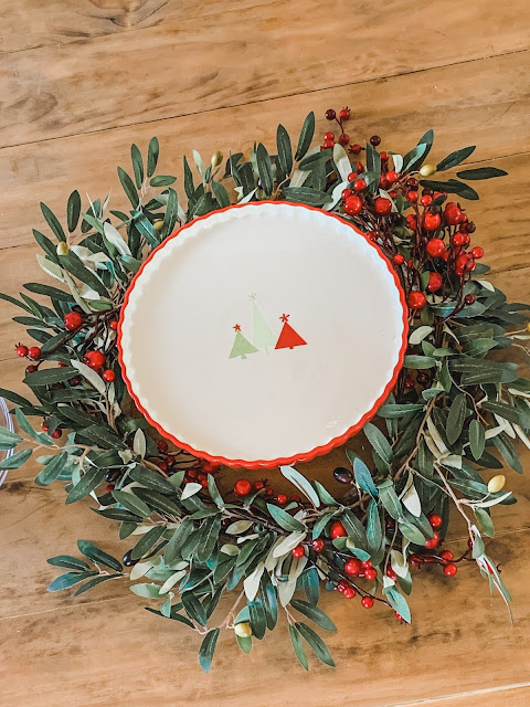 Creative ways to use Christmas olive wreath