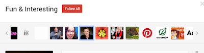 Google+ Suggested User List 2014