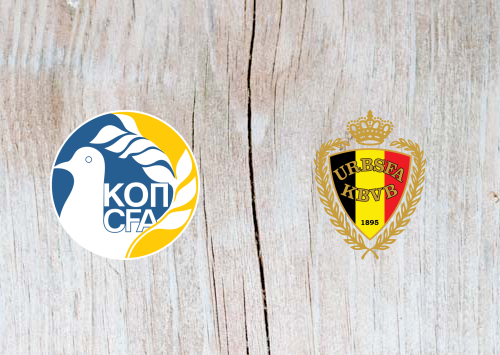 Cyprus vs Belgium - Highlights 24 March 2019