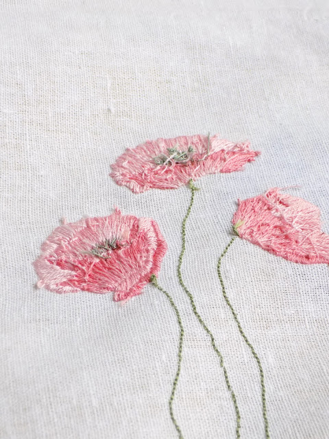 Backside of hand embroidery: why I chose to reveal it