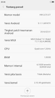 Cara Upgrade Xiaomi Redmi 2 Kitkat Ke Lolipop
