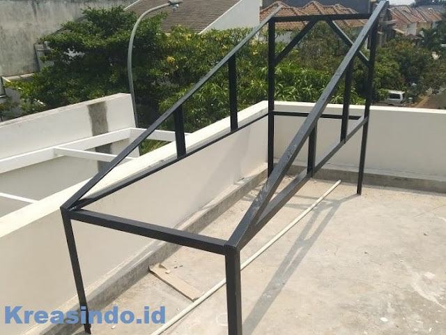 Produsen Rangka Kedudukan Atau Bracket Wika SWH Solar Water Heater Paling Recomended Di Jabodetabek